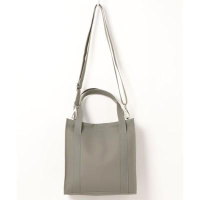 minia / スモーキークリアのミニショルダーバッグ/トートバッグ<2WAY> ◇ WOMEN バッグ > ショルダーバッグ