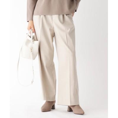 OPAQUE.CLIP / 【34(SS)、42(LL)WEB限定サイズ】キャリーマンエステルツイルワイドパンツ WOMEN パンツ > パンツ