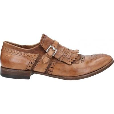 プレヴェンティ PREVENTI メンズ ローファー シューズ・靴 loafers Tan