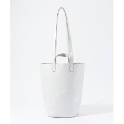 TOMORROWLAND/トゥモローランド MASTER&Co. ダブルハンドルトートバッグ 11 ホワイト F