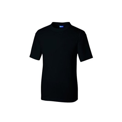 SOWA(ソーワ) 作業服 メンズ 半袖 Tシャツ ブラック 6Lサイズ 50383 【ポリエステル100% オールシーズン レディースサイズ対応】