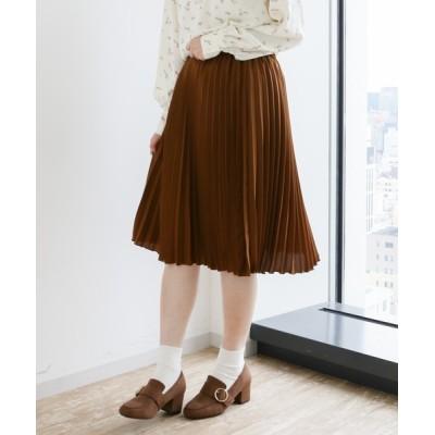 マルチサイズ / すきな丈プリーツスカート(ミディ) WOMEN スカート > スカート