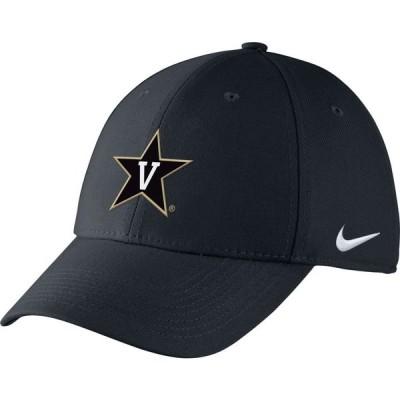 ナイキ Nike メンズ キャップ 帽子 Vanderbilt Black Adjustable Hat