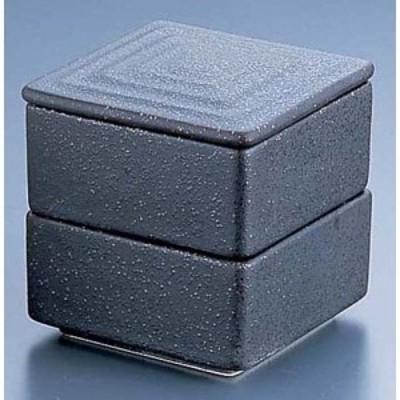 エムズジャパン 角型 二段重 黒 Y-021 RMJ5301