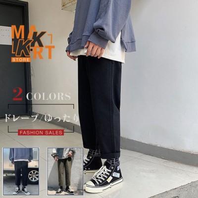 パンツ メンズ ワイドパンツ ズボン メンズ ガウチョパンツ トレンド  リゾート カーゴパンツ メンズ 男性用 バギーパンツ ゆったり カジュアル
