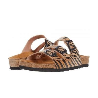 Naot ナオト レディース 女性用 シューズ 靴 サンダル Austin - Tan Zebra Leather
