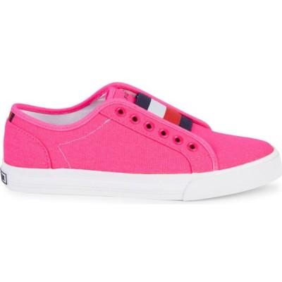 トミー ヒルフィガー Tommy Hilfiger レディース スリッポン・フラット シューズ・靴 Twannia Slip-On Sneakers ピンク