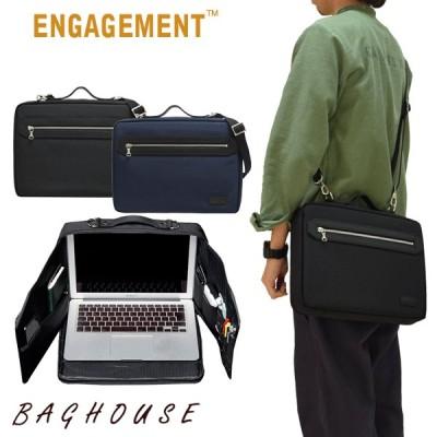 メンズ ビジネスバッグ ENGAGEMENT エンゲージメント 3WAYブリーフケース ビジネスバッグ EGBF-015