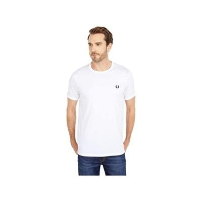 フレッドペリー Ringer T-Shirt メンズ シャツ トップス White