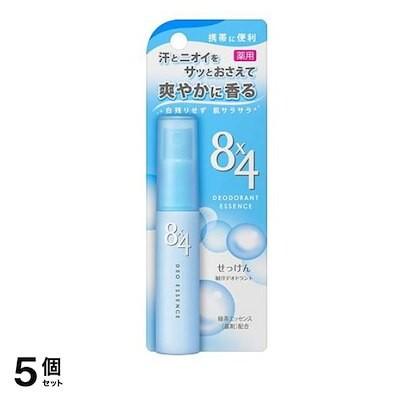 84(エイトフォー) デオドラントエッセンス せっけんの香り 15mL 5個セット
