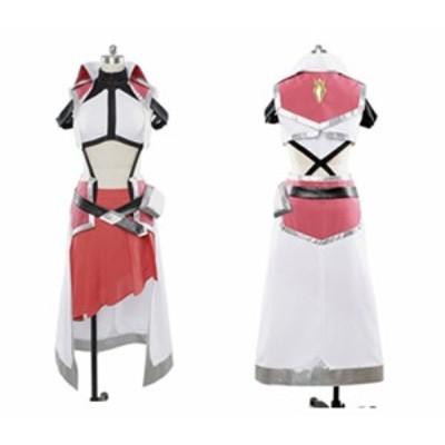 クロスアンジュ 天使と竜の輪舞    ヒルダ    風   コスプレ衣装 ★ 完全オーダメイドも対応可能 *K4251