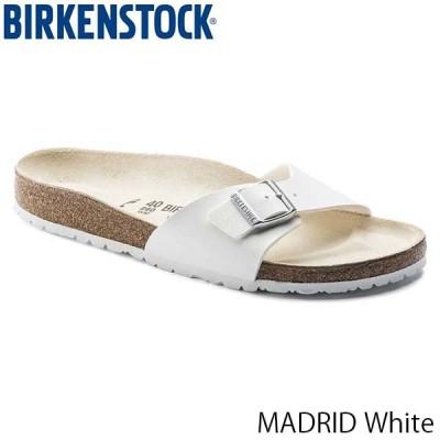 ビルケンシュトック サンダル レディース マドリッド MADRID スポーツサンダル コンフォート 幅狭 ナロー ホワイト 白 BIRKENSTOCK GC040733 国内正規品