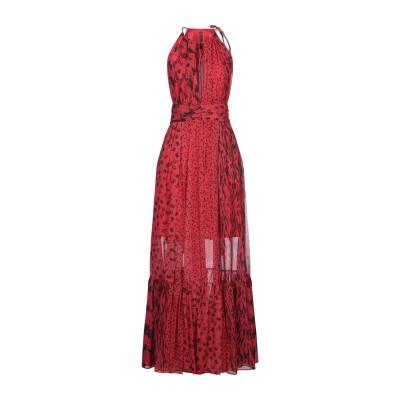 マニラ グレース MANILA GRACE ロングワンピース&ドレス レッド 46 ポリエステル 100% ロングワンピース&ドレス