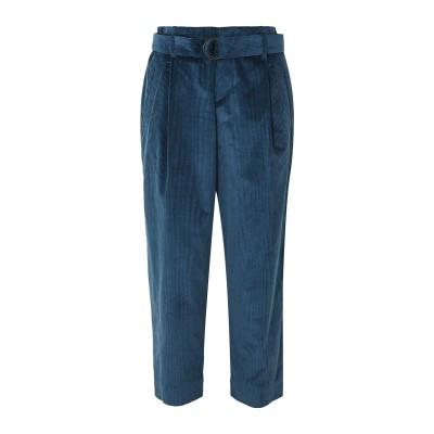ブルネロ クチネリ BRUNELLO CUCINELLI パンツ ブルー 44 コットン 92% / カシミヤ 8% パンツ