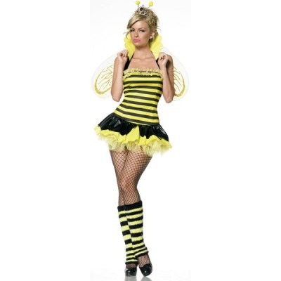 ハニー 蜜蜂 衣装 、コスチューム(女性用)忘年会