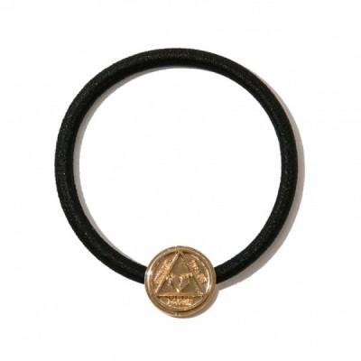 Deviluse Coin Hair Gum(Gold)