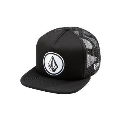 ボルコム 帽子 ハット ビーニー ニット帽 Volcom - Volcom Hat - Coast Cheese - ブラック ワンサイズ