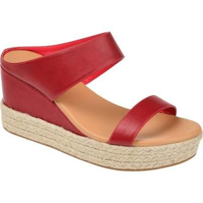 ジュルネ コレクション Journee Collection レディース サンダル・ミュール シューズ・靴 Alissa Slide Red