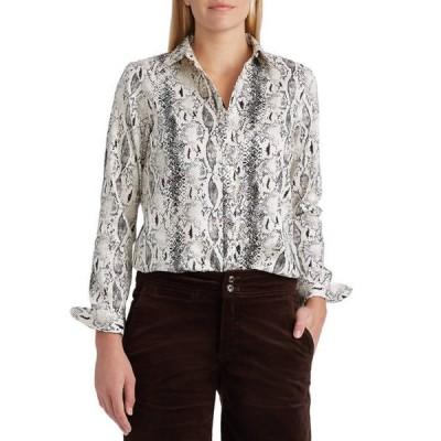 チャップス レディース シャツ トップス Non-Iron Broadcloth Long Sleeve Shirt