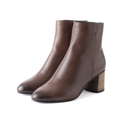 ANDEX shoes product / coca / コカ チャンキーヒール ショートブーツ 420009 WOMEN シューズ > ブーツ