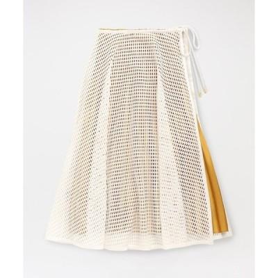 スカート メッシュスタイリングスカート