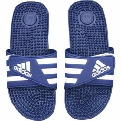 アディダス adidas メンズ サンダル シューズ・靴 Adissage Slider Sandals Navy/White
