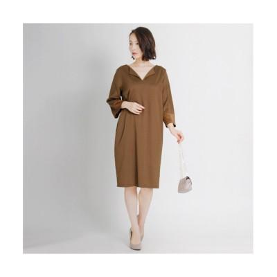 MARTHA(マーサ) ポンチチュニックワンピース (ワンピース)Dress