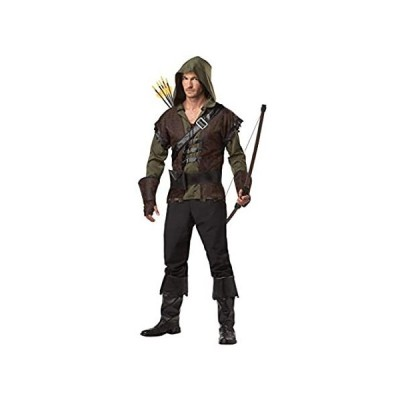 California Costumes mens Robin Hood/Adult Adult Sized Costume, Olive/Brown,