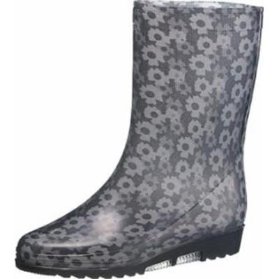アサヒ R300 (KH37003) ブラック レインブーツ レディース 長靴 お取り寄せ商品