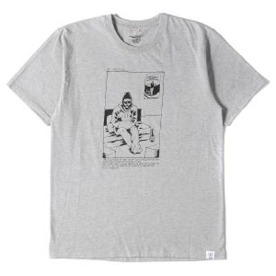 BEDWIN ベドウィン Tシャツ イラストグラフィック ヘビー Tシャツ グレー 3 【メンズ】【美品】【中古】【K2727】