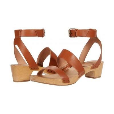 Madewell レディース 女性用 シューズ 靴 ヒール Alexa Ankle Strap Clog - Burnished Caramel