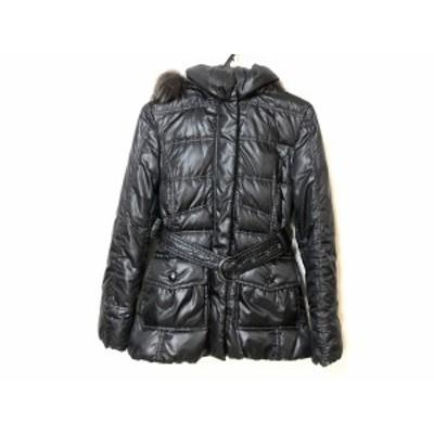 コムサデモード COMME CA DU MODE ダウンコート サイズ9 M レディース - 黒 長袖/冬【中古】20201103
