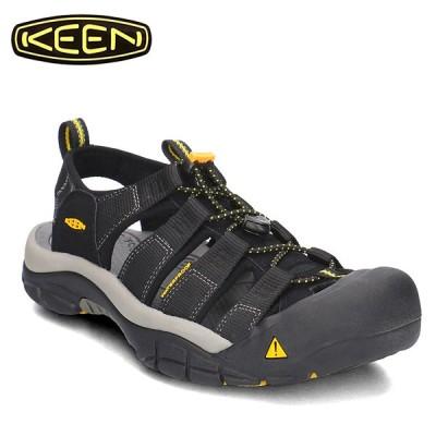 サンダルKEENキーン ブラック黒スポーツ ニューポート エイチツー靴メンズ1001907