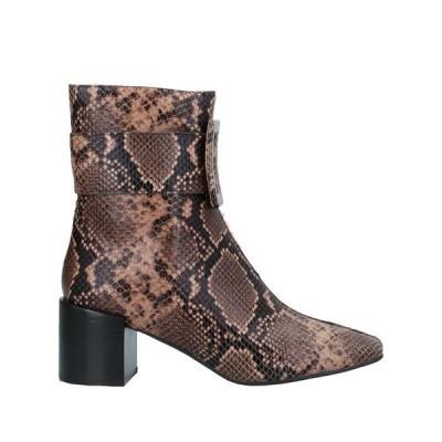 JEFFREY CAMPBELL ショートブーツ ファッション  レディースファッション  レディースシューズ  ブーツ  その他ブーツ ブラウン