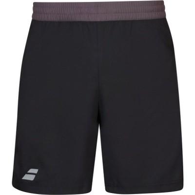 バボラ ハーフ&ショーツ ボトムス メンズ Babolat Men's Play Tennis Shorts Black