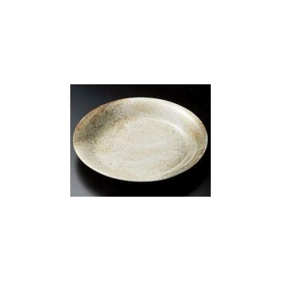 和食器雪志野9.0深皿/大きさ・28×3.7cm