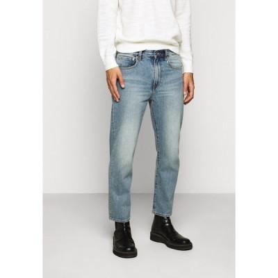 クラブ モナコ デニムパンツ メンズ ボトムス CROPPED STRAIGHT - Straight leg jeans - indigo