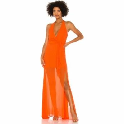 エヌビーディー NBD レディース パーティードレス ワンピース・ドレス Victoria Gown Tangerine