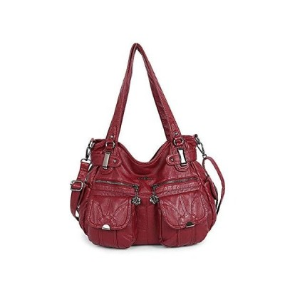 TYWZF Handbags Women Tote Shoulder Bags Top Zippers Multi Pockets Purses Wa