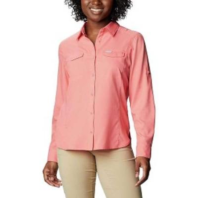 コロンビア レディース シャツ トップス Columbia Women's Silver Ridge Lite Long Sleeve Shirt Salmon
