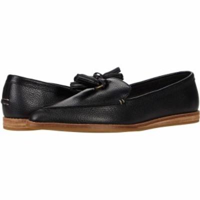 スペリートップサイダー Sperry レディース スリッポン・フラット シューズ・靴 Saybrook Slip-On Tumbled Leather Black