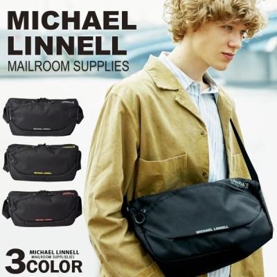 マイケルリンネル MICHAEL LINNELL ショルダーバッグ メンズ レディース ミニショルダー サブバッグ 旅行 フェス トラベル 黒 ブラック 送料無料 MLCD-600
