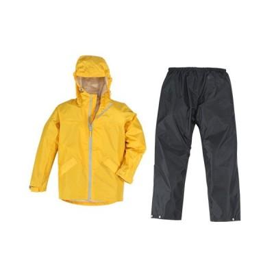 カジメイク 子供用レインスーツ/7560 イエロー/150