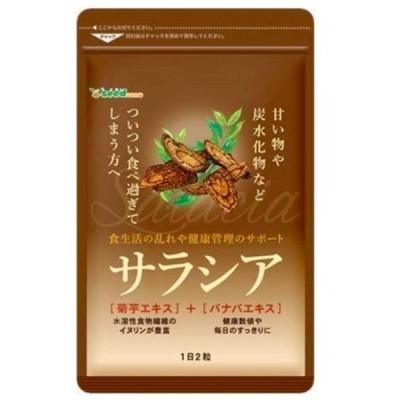 シードコムス サラシア 菊芋エキス バナバエキス 配合 サプリメント ダイエット 約3ヶ月分 180粒