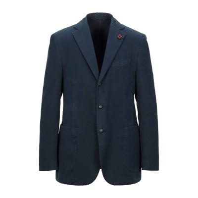ラルディーニ LARDINI テーラードジャケット ダークブルー 56 コットン 52% / ポリエステル 48% テーラードジャケット