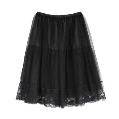 スカート チュール使いパニエ