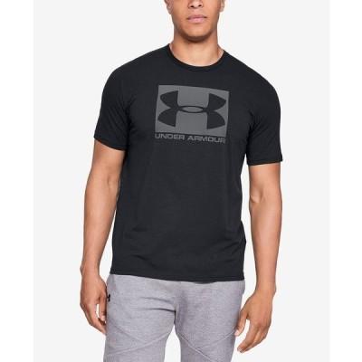 アンダーアーマー Tシャツ トップス メンズ Men's Boxed Sportstyle T-Shirt Black/Steel