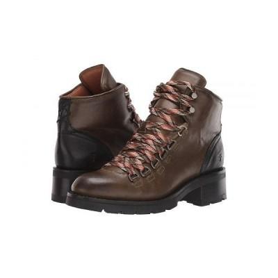 Frye フライ レディース 女性用 シューズ 靴 ブーツ レースアップ 編み上げ Alta Hiker - Olive Multi
