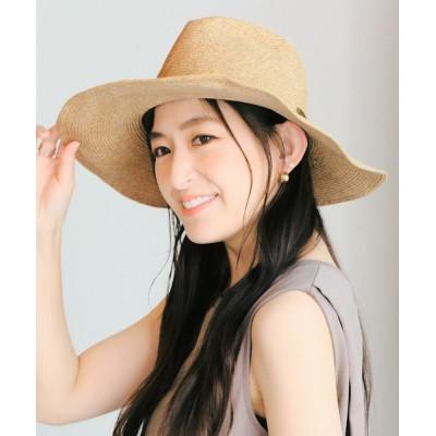 14+(ICHIYON PLUS) / 日本製つば広中折れハット WOMEN 帽子 > ハット