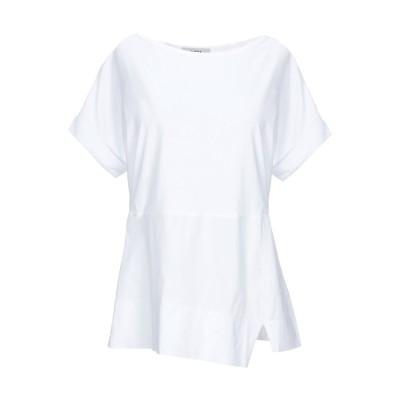 アルファスタジオ ALPHA STUDIO T シャツ ホワイト 42 コットン 95% / ポリウレタン 5% T シャツ